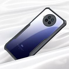 Custodia Silicone Trasparente Specchio Laterale Cover M01 per Xiaomi Mi 10T Lite 5G Nero