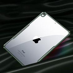 Custodia Silicone Trasparente Specchio Laterale Cover per Apple iPad Air 10.9 (2020) Verde Notte