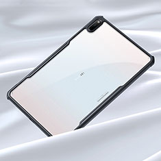 Custodia Silicone Trasparente Specchio Laterale Cover per Huawei MatePad 5G 10.4 Nero