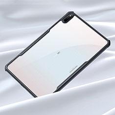 Custodia Silicone Trasparente Specchio Laterale Cover per Huawei MatePad Nero