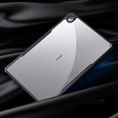 Custodia Silicone Trasparente Specchio Laterale Cover per Huawei MediaPad M6 10.8 Nero