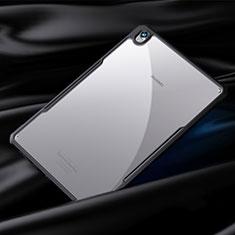 Custodia Silicone Trasparente Specchio Laterale Cover per Huawei MediaPad M6 8.4 Nero