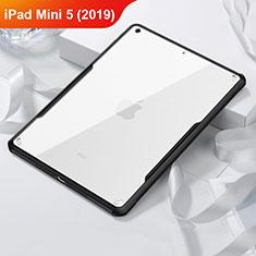 Custodia Silicone Trasparente Specchio Laterale per Apple iPad Mini 5 (2019) Nero