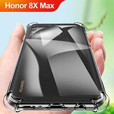 Custodia Silicone Trasparente Ultra Slim Morbida A01 per Huawei Honor 8X Max Chiaro