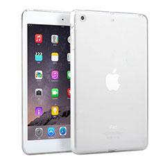 Custodia Silicone Trasparente Ultra Slim Morbida per Apple iPad Mini 3 Bianco