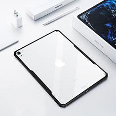 Custodia Silicone Trasparente Ultra Slim Morbida per Apple iPad Pro 12.9 (2018) Nero