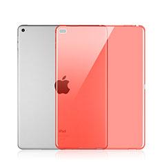 Custodia Silicone Trasparente Ultra Slim Morbida per Apple iPad Pro 12.9 Rosso