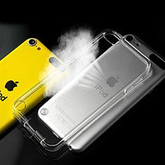 Custodia Silicone Trasparente Ultra Slim Morbida per Apple iPod Touch 5 Chiaro