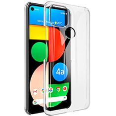 Custodia Silicone Trasparente Ultra Slim Morbida per Google Pixel 4a 5G Chiaro