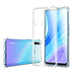 Custodia Silicone Trasparente Ultra Slim Morbida per Huawei Enjoy 10 Plus Chiaro