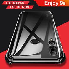 Custodia Silicone Trasparente Ultra Slim Morbida per Huawei Enjoy 9s Chiaro