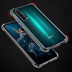 Custodia Silicone Trasparente Ultra Slim Morbida per Huawei Honor 20 Pro Chiaro