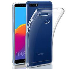 Custodia Silicone Trasparente Ultra Slim Morbida per Huawei Honor 7A Chiaro