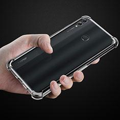 Custodia Silicone Trasparente Ultra Slim Morbida per Huawei Honor 8X Max Chiaro
