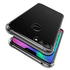 Custodia Silicone Trasparente Ultra Slim Morbida per Huawei Honor 9i Chiaro