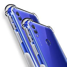 Custodia Silicone Trasparente Ultra Slim Morbida per Huawei Honor Note 10 Chiaro