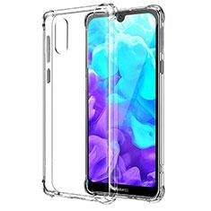 Custodia Silicone Trasparente Ultra Slim Morbida per Huawei Honor Play 8 Chiaro