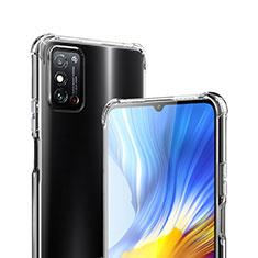 Custodia Silicone Trasparente Ultra Slim Morbida per Huawei Honor X10 Max 5G Chiaro