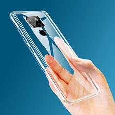 Custodia Silicone Trasparente Ultra Slim Morbida per Huawei Mate 20 Chiaro