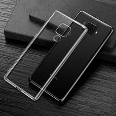 Custodia Silicone Trasparente Ultra Slim Morbida per Huawei Mate 30 Lite Chiaro