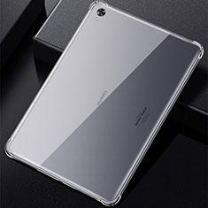 Custodia Silicone Trasparente Ultra Slim Morbida per Huawei MatePad 10.8 Chiaro