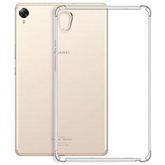 Custodia Silicone Trasparente Ultra Slim Morbida per Huawei MediaPad M6 10.8 Chiaro