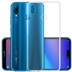 Custodia Silicone Trasparente Ultra Slim Morbida per Huawei Nova 3 Chiaro