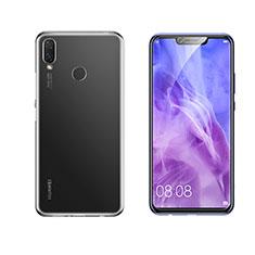 Custodia Silicone Trasparente Ultra Slim Morbida per Huawei Nova 3i Chiaro