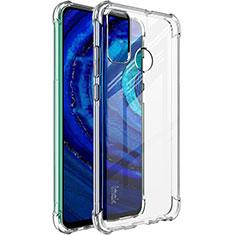 Custodia Silicone Trasparente Ultra Slim Morbida per Huawei P Smart (2020) Chiaro