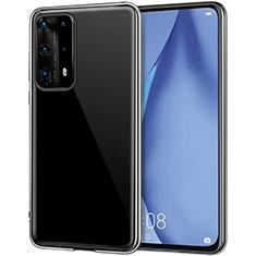 Custodia Silicone Trasparente Ultra Slim Morbida per Huawei P40 Pro+ Plus Chiaro