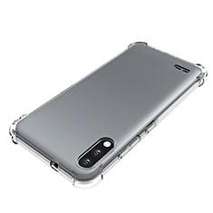 Custodia Silicone Trasparente Ultra Slim Morbida per LG K22 Chiaro
