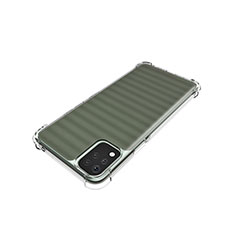 Custodia Silicone Trasparente Ultra Slim Morbida per LG K42 Chiaro