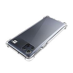 Custodia Silicone Trasparente Ultra Slim Morbida per LG K92 5G Chiaro