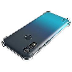 Custodia Silicone Trasparente Ultra Slim Morbida per Motorola Moto E6s (2020) Chiaro
