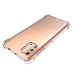 Custodia Silicone Trasparente Ultra Slim Morbida per Motorola Moto G9 Plus Chiaro