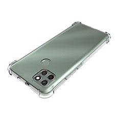 Custodia Silicone Trasparente Ultra Slim Morbida per Motorola Moto G9 Power Chiaro