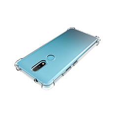 Custodia Silicone Trasparente Ultra Slim Morbida per Nokia 2.4 Chiaro