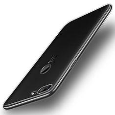Custodia Silicone Trasparente Ultra Slim Morbida per OnePlus 5T A5010 Chiaro