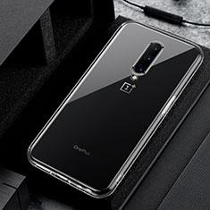 Custodia Silicone Trasparente Ultra Slim Morbida per OnePlus 8 Chiaro