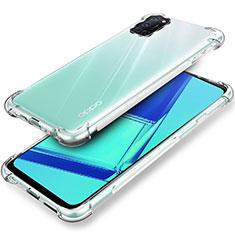 Custodia Silicone Trasparente Ultra Slim Morbida per Oppo A72 Chiaro