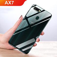 Custodia Silicone Trasparente Ultra Slim Morbida per Oppo AX7 Chiaro