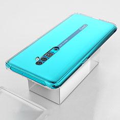 Custodia Silicone Trasparente Ultra Slim Morbida per Oppo Reno 10X Zoom Chiaro