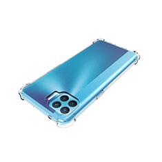 Custodia Silicone Trasparente Ultra Slim Morbida per Oppo Reno4 F Chiaro