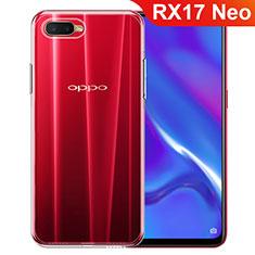 Custodia Silicone Trasparente Ultra Slim Morbida per Oppo RX17 Neo Chiaro
