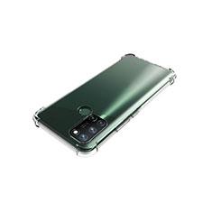 Custodia Silicone Trasparente Ultra Slim Morbida per Realme C17 Chiaro
