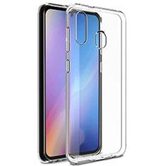 Custodia Silicone Trasparente Ultra Slim Morbida per Samsung Galaxy A30 Chiaro
