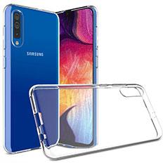 Custodia Silicone Trasparente Ultra Slim Morbida per Samsung Galaxy A30S Chiaro