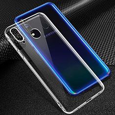 Custodia Silicone Trasparente Ultra Slim Morbida per Samsung Galaxy A60 Chiaro