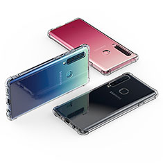 Custodia Silicone Trasparente Ultra Slim Morbida per Samsung Galaxy A9s Chiaro