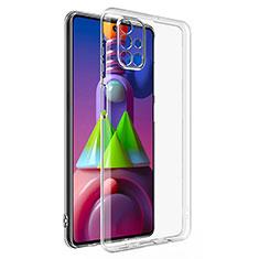Custodia Silicone Trasparente Ultra Slim Morbida per Samsung Galaxy M51 Chiaro